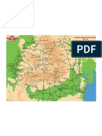 Harta Retelei CFR
