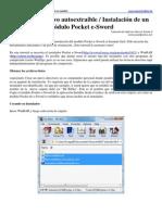 Crear un archivo autoextraíble Pocket e-Sword