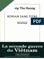 Duong Thu Huong - Roman Sans Titre