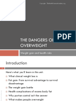 WL Module 1 2 Unit 1 the Dangers of Being Overweight