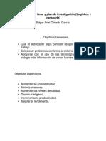 S4. Actividad 2 Delimitacion Del Tema y Plan de Investigacion