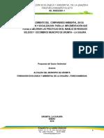 Proyecto Comparendo Ambiental Urumita