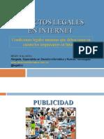 Aspectos Legales en Internet