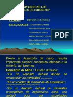 Derecho Minero Trabajo