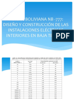 Norma Boliviana Nb -777