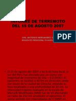 Terremoto 2007