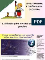 1-Métodos Para o Estudo Do Interior Da Terra