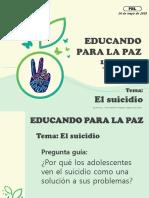PBL El Suicidio Grado 11 Mayo 2018