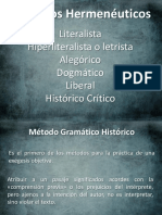 Hermeneutica - 11 Oct - Método Gramático Histórico