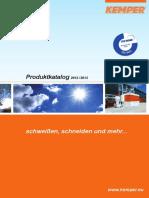 KEMPER Produktkatalog 2012