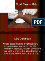 Arterial Blood Gases ABGs