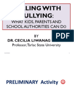 Dealing With Bullying - What Kids, Parents, And School Authorities Can Do