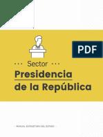 1 Sector Presidencia de La Republica
