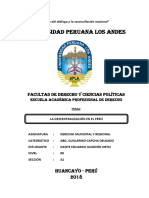 Tarea _ La Descentralización en El Perú