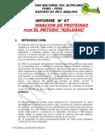 Informe 1 de Proteinas