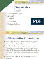 Konsep Ekonomi Islam
