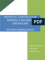 Anexo5. Estudio Hidrologico Janchillani