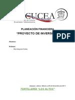 Copia de Proyecto de Inversión