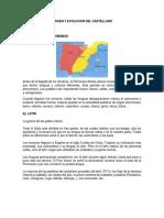 ORIGEN Y EVOLUCION DEL CASTELLANO.docx