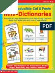 1. Cut Paste Mini-books 15 Dictionary