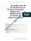 Tema 26 DErivadas en un punto - Autor Preparador de Matematicas.pdf