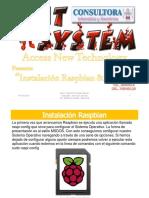 Instalacion Raspbian Noobs
