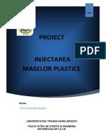 Injectarea Maselor Plastice