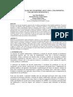 métodos de Análise Multicritério Aplicados a Transportes