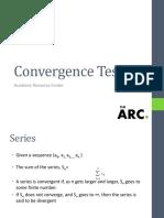 Convergence Test