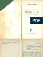 Borges, Jorge Luis. Prólogo a Martín Fierro, De José Hernández