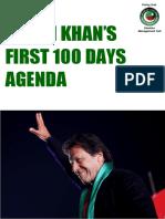 100 Days Agenda of PTI Govt