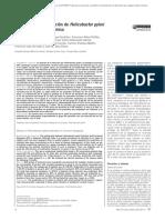 Eficacia tratamiento Helicobacter