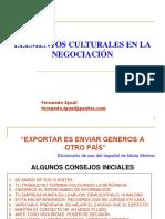 Elementos Culturales en La Negociación