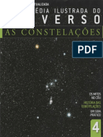 Enciclopédia Ilustrada Do Universo - As Constelações. Volume 4