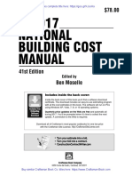 2017 National Building Cost Manual