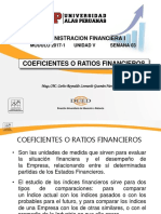 Semana 3 - Coeficientes Financieros