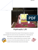 hydaulic lifts paper
