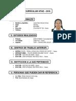 Curriculum 2016 - Juanita