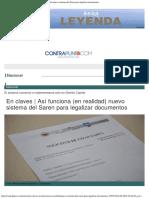 Contrapunto.com _ en Claves _ Así Funciona (en Realidad) Nuevo Sistema Del Saren Para Legalizar Documentos