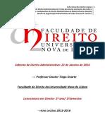 Curso de Direito Administrativo- FDUNL