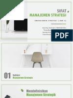 [BAB 1] Hakikat Manajemen Strategi
