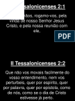 II Tessalonicenses - 002