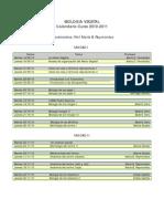 Calendario BV 2010-2011