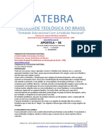 Apostila 34 Estudo Sobre Psicologia Pastoral