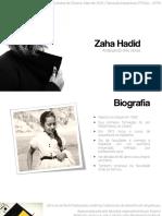 Zaha Hadid II Livia Nobre I Teoria Da Arquitetura