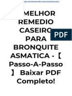→ MELHOR REMEDIO CASEIRO PARA BRONQUITE  ASMATICA -【Passo-A-Passo】 - Baixar PDF GRÁTIS!
