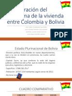 Comparación Del Problema de La Vivienda Entre Colombia