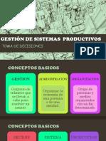 Gestión de Sistemas Productivos