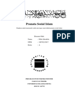 Dilla Pranata Sosial Islam