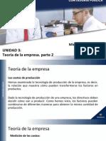 Unidad 3.2 Teoría Empresa